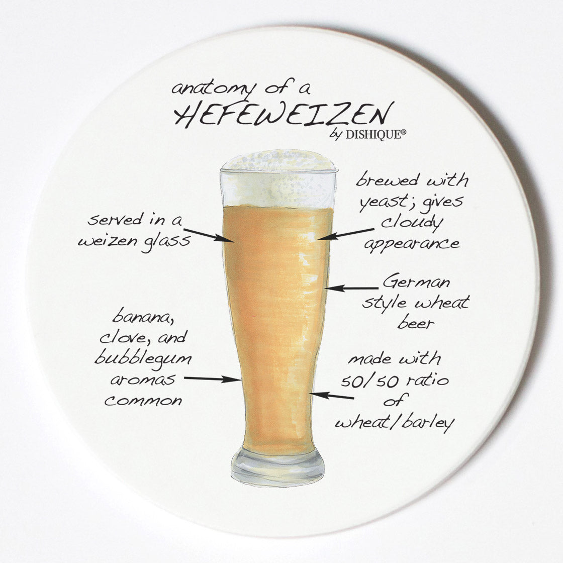 Individual Coasters - Food & Drinks - Hefeweizen
