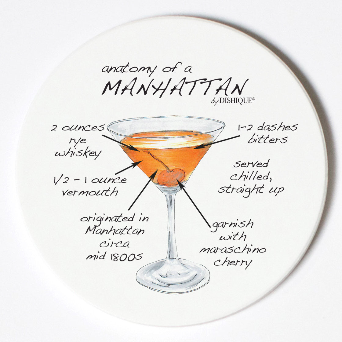 Individual Coasters - Food & Drinks - Manhattan