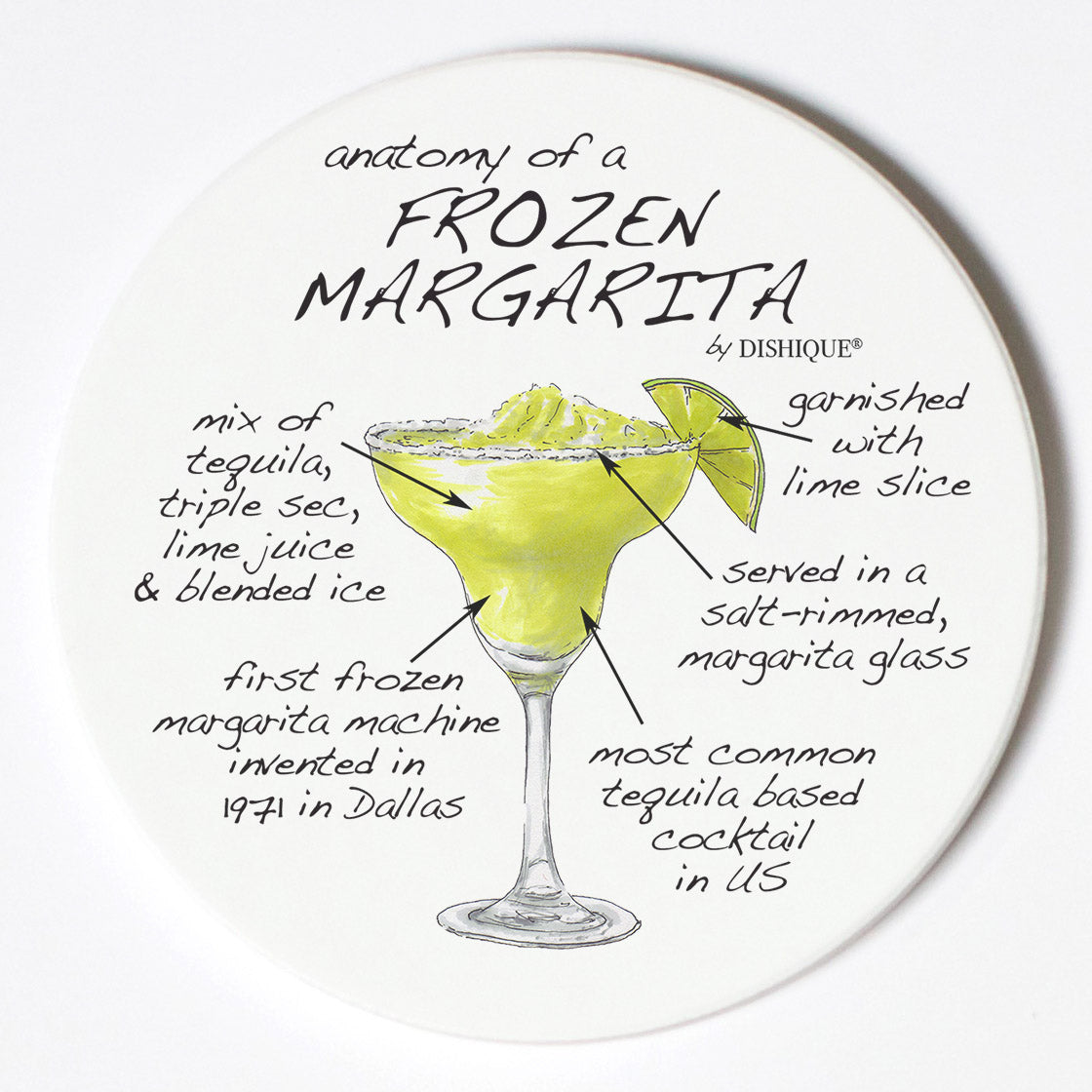 Individual Coasters - Food & Drinks - Margarita