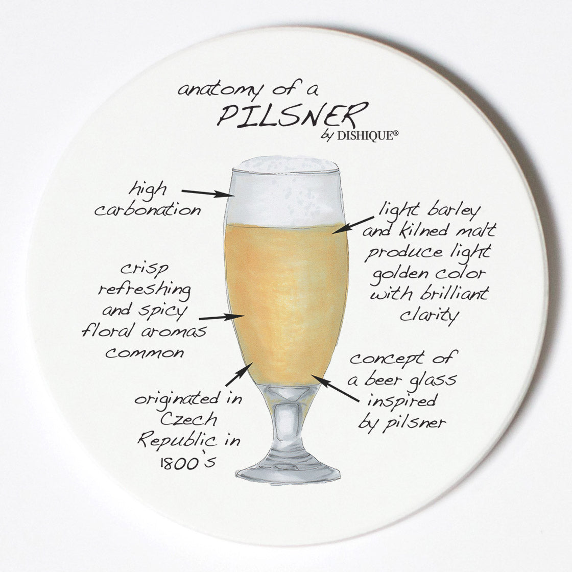 Individual Coasters - Food & Drinks - Pilsner