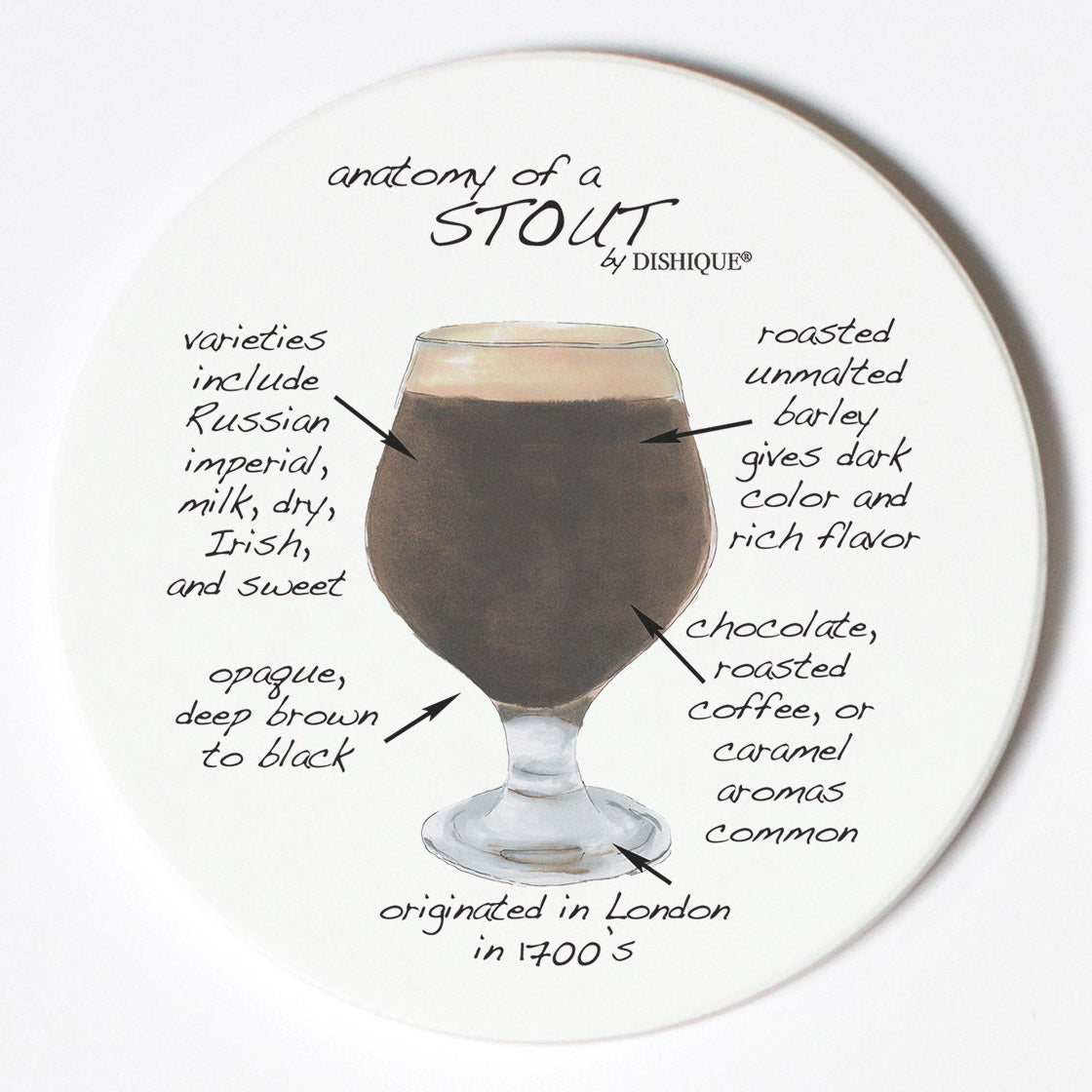 Individual Coasters - Food & Drinks - Stout
