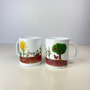 Farm Plants Growing 11 oz. Plastic Mug