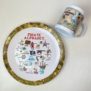 Pirate Treasure Map 11 oz. Plastic Mug
