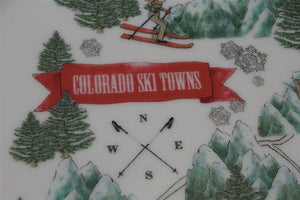 Colorado Ski Towns Platter