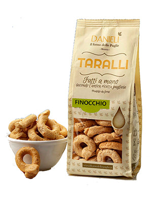 Danieli Taralli with Fennel 240g