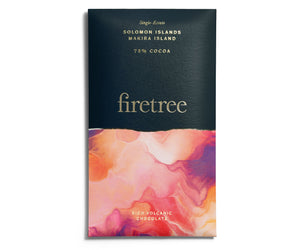 Firetree Chocolate Bar - 75% Cocoa (Solomon Islands, Makira Island)