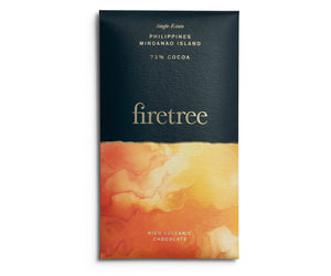 Firetree Chocolate Bar - 73% Cocoa (Philippines, Mindanao Island)