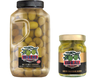 IDEAL Chalkidiki Green Olives