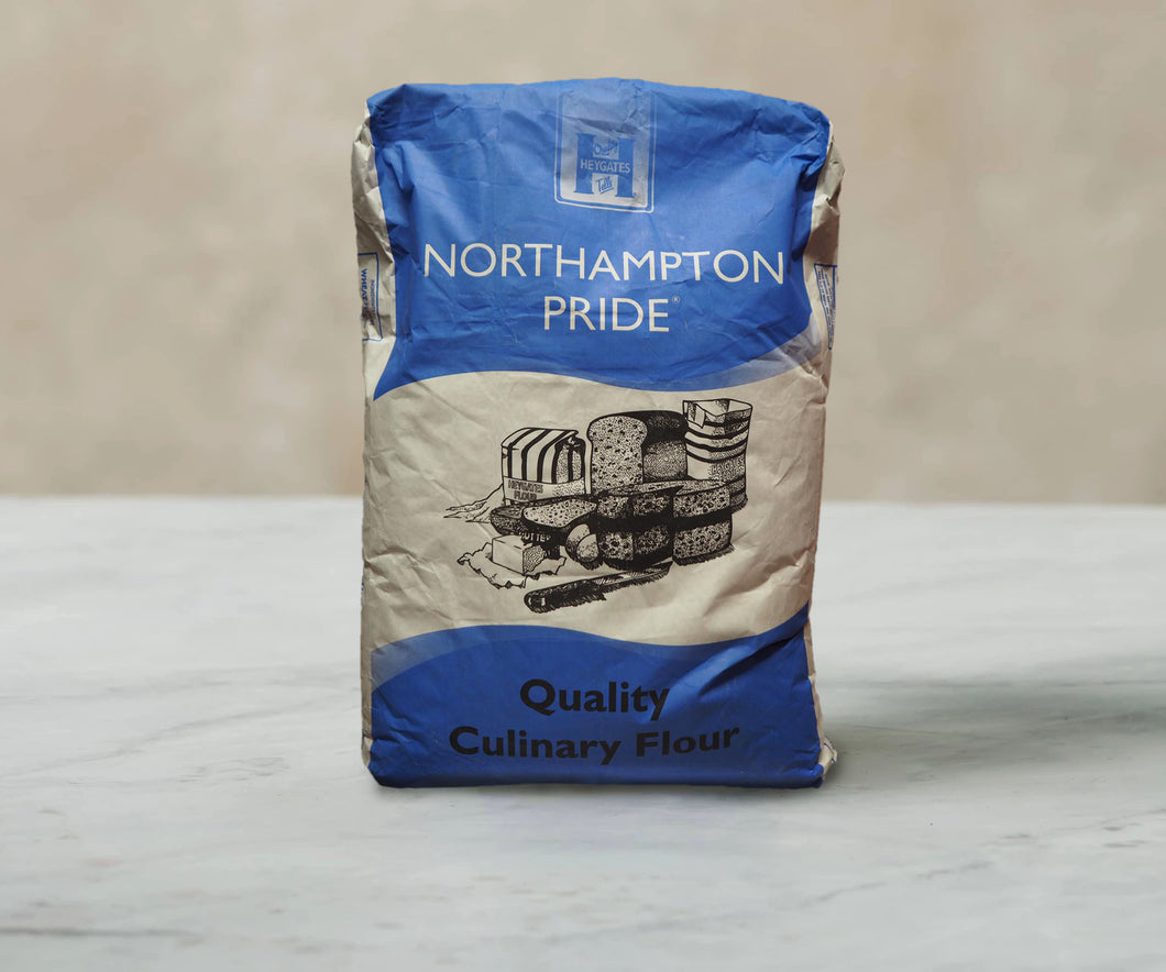 Northampton Pride - Plain and Self-Raising Flours - 12.5kg