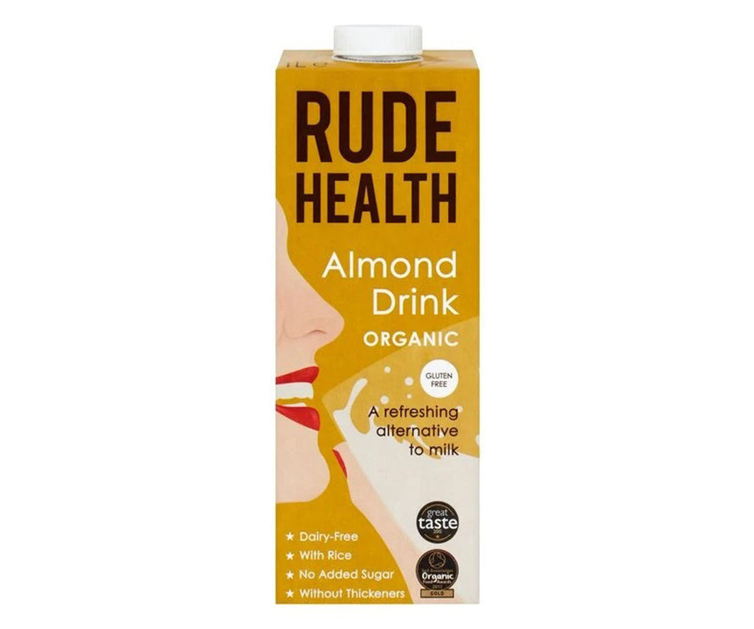 Organic Rude Health Almond Drink 1L