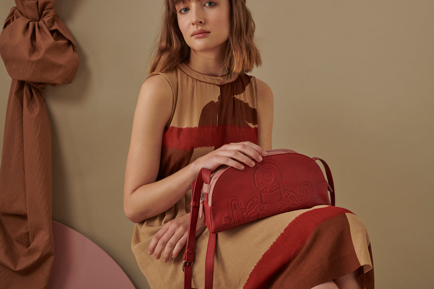 Lodge Bag - Scarlet