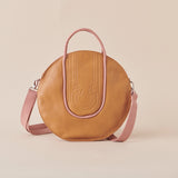 Sundial Butterscotch Leather Handbag