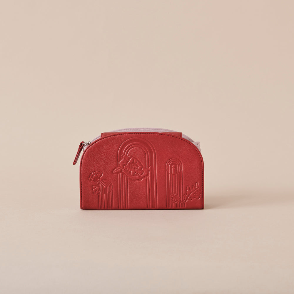 Treasurer Clutch - Scarlet