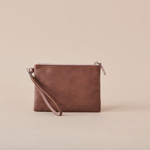 Kingston Clutch - Pecan