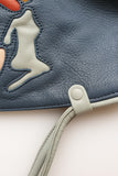Monon Ocean Leather Satchel - Collab
