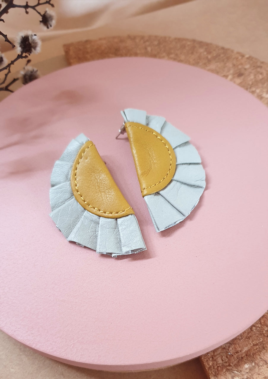 Glamour Leather Earrings : various colours