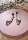 Opera Leather Earrings : various colours