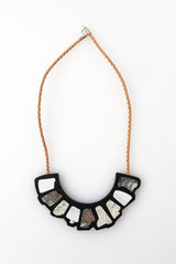 Pebble Necklace - black