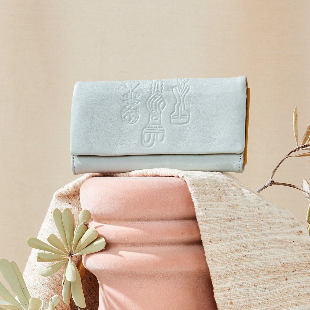 Sachem Sky Leather Wallet