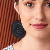 Spectator Leather Earrings : various colours