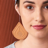 Strum Leather Earrings : various colours