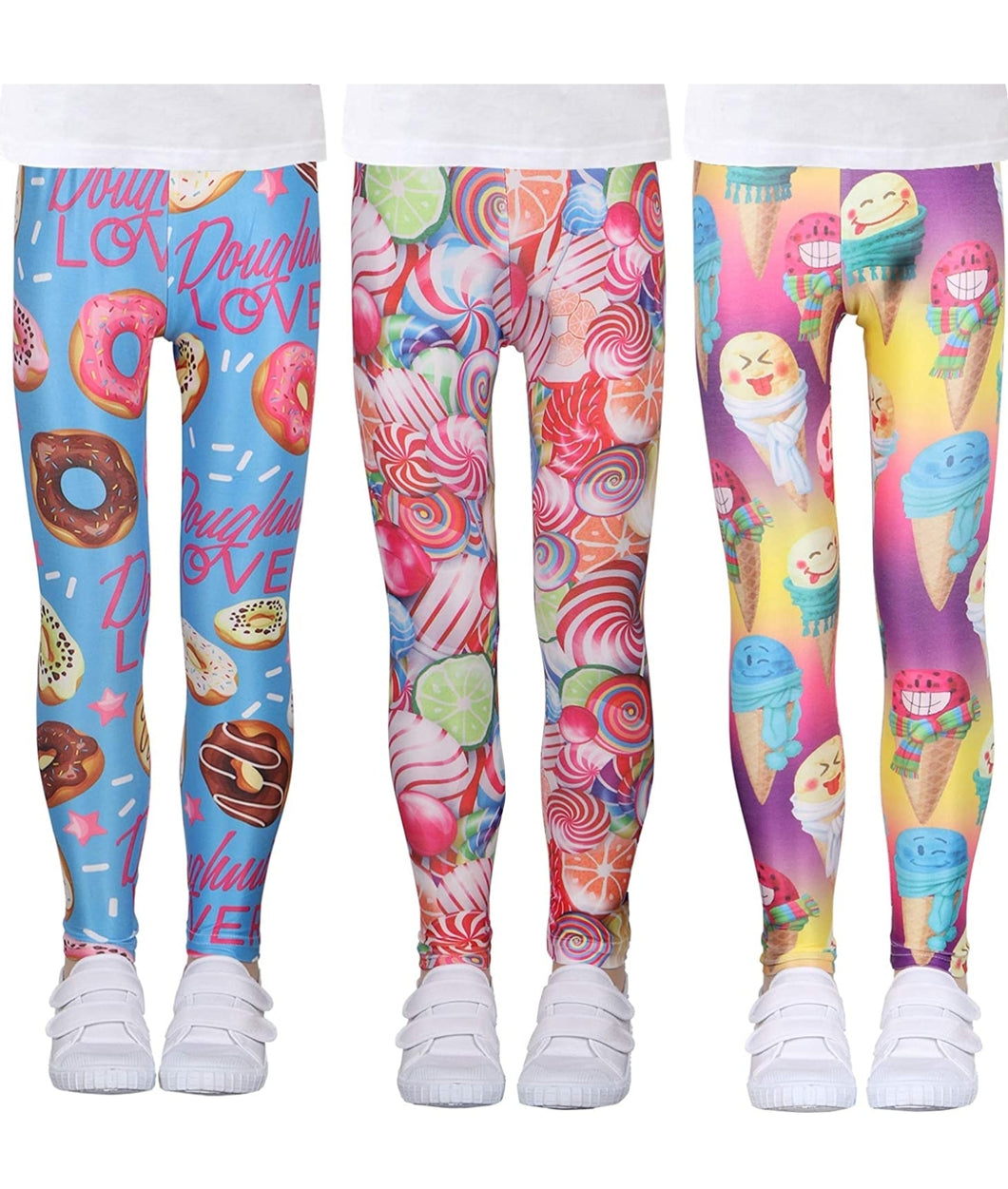 Candy shop leggings 3Pack