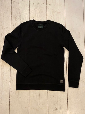 Butcher of Blue Classic Crew L/S Black