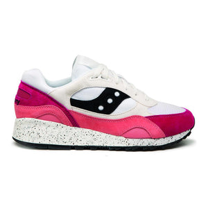 Saucony SHADOW 6000 - WHITE/CORAL