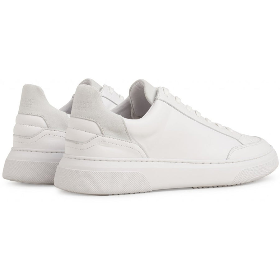 Garment Project Off Court - White Leather/ White Seude
