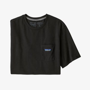 Patagonia Men's P-6 Label Pocket Responsibili-Tee Black