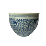 Load image into Gallery viewer, Antique Asian Blue & White Jardiniere
