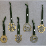 Load image into Gallery viewer, Vintage English Horse Brasses with Velvet Ribbon