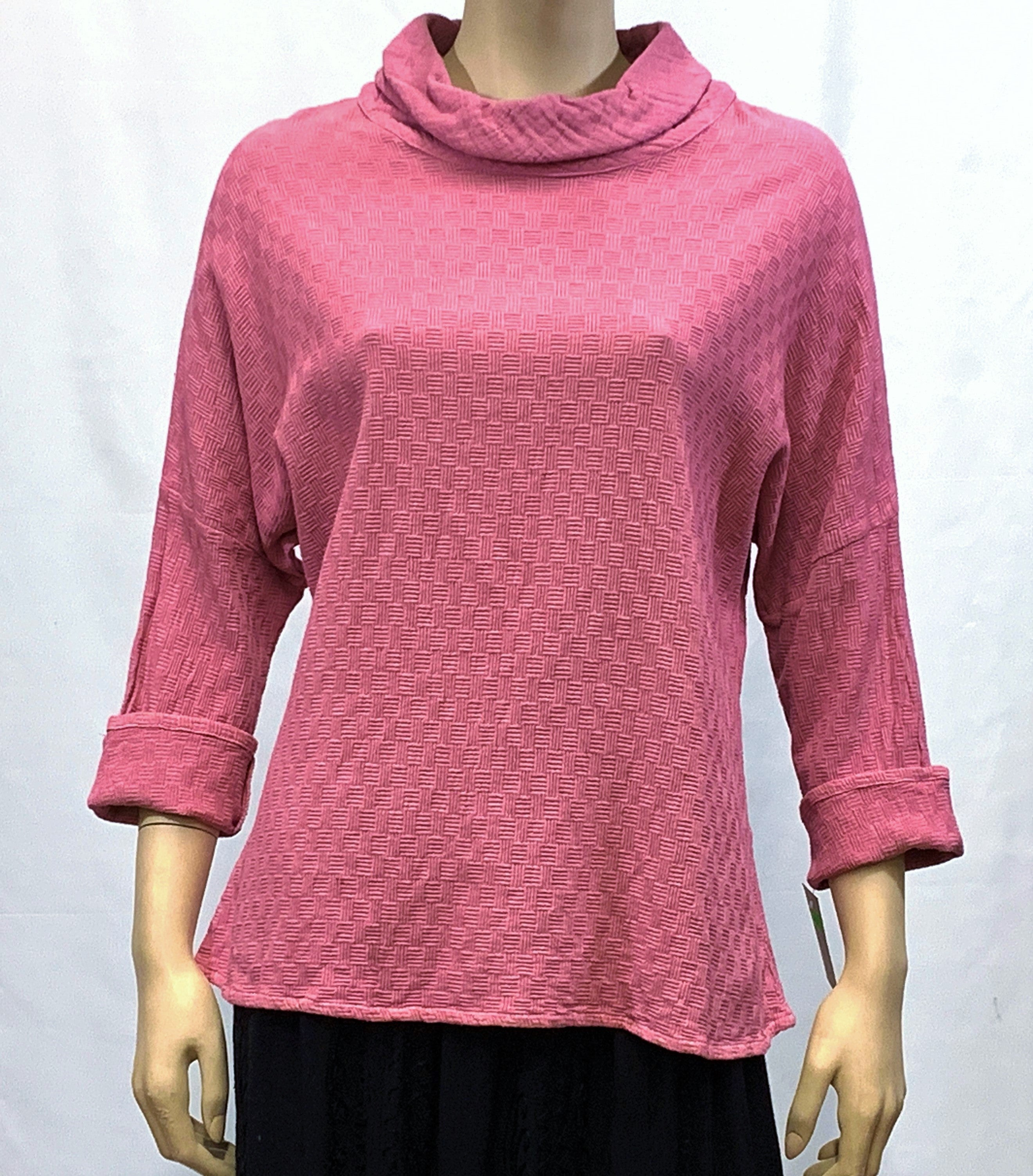 Cotton Boxy Pullover