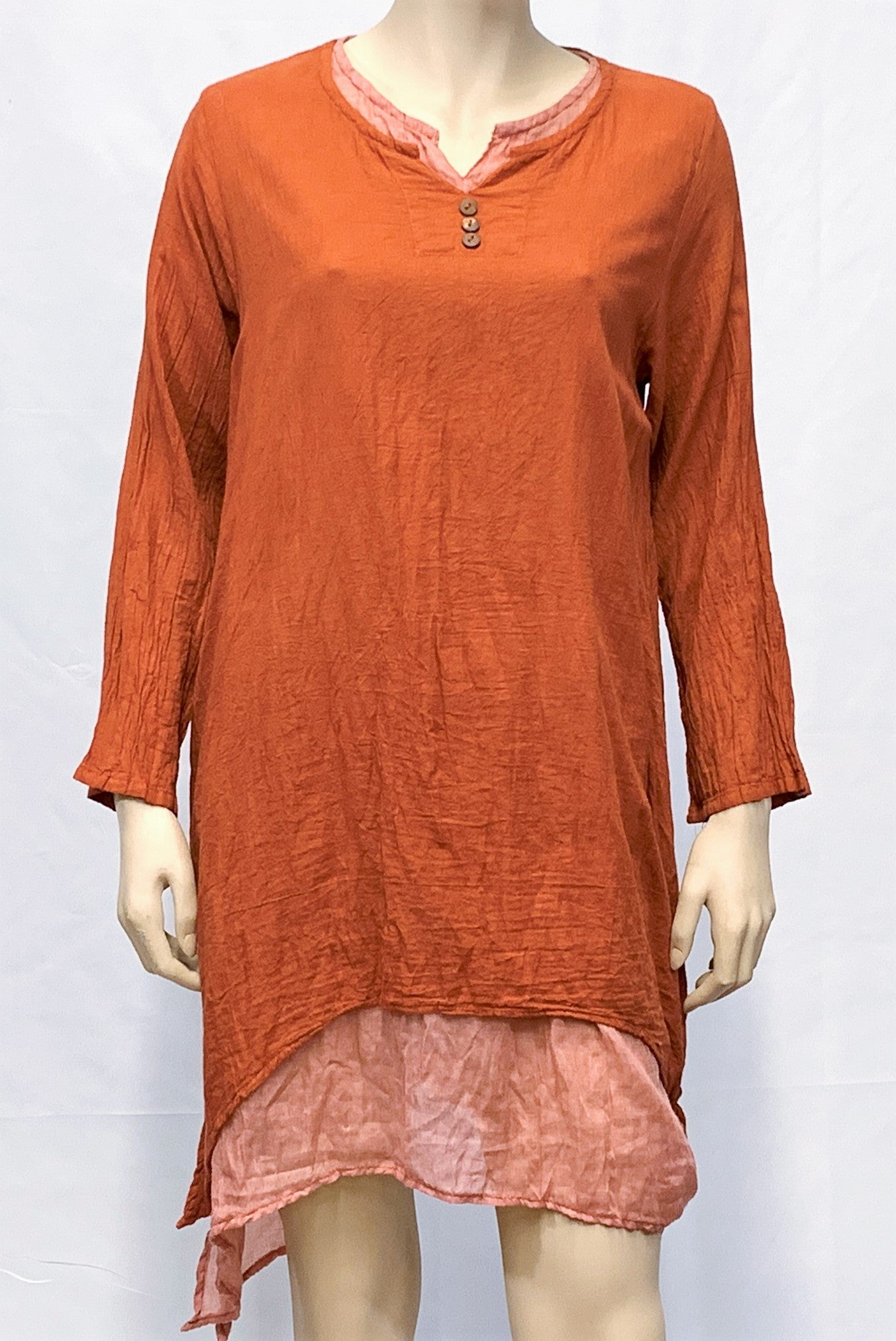 Cotton Tunic Blouse