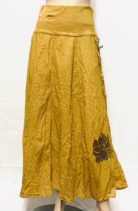 Cotton Lotus Skirt