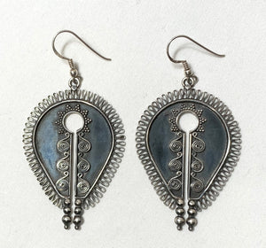 Gypsy Sterling Silver Earring