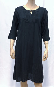 Cotton Boxy Dress