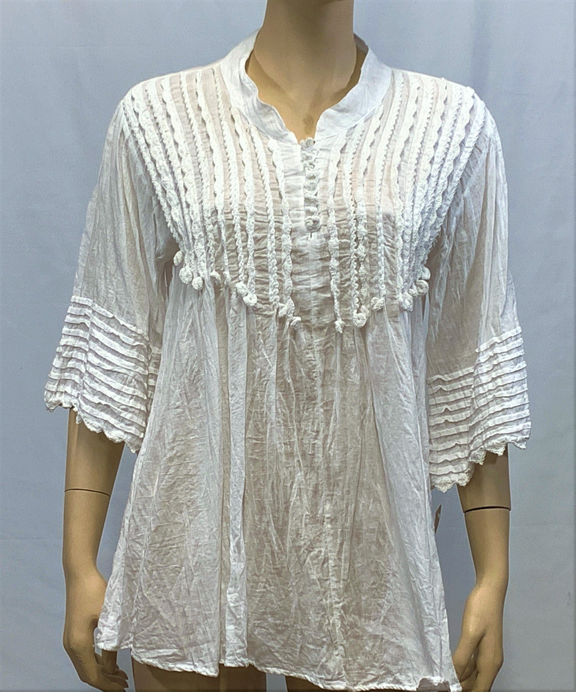 Cotton Lace Ruffle