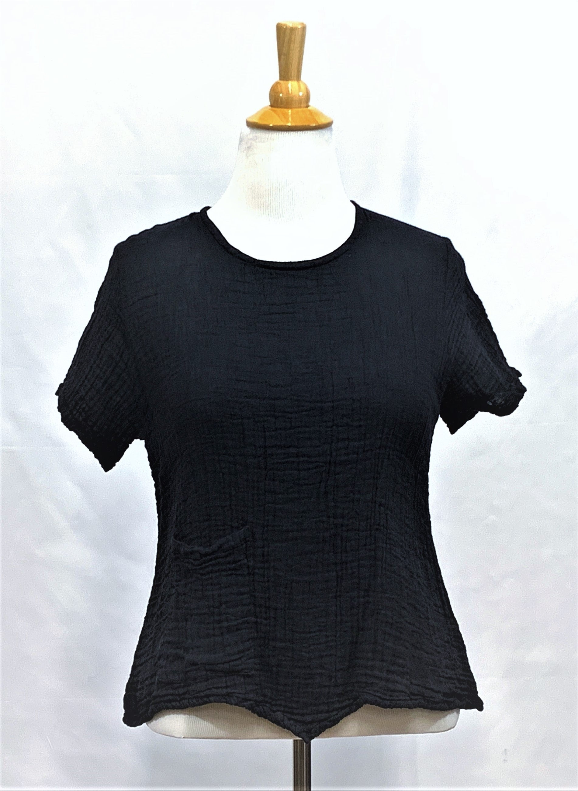 Half Sleeve Cotton Top