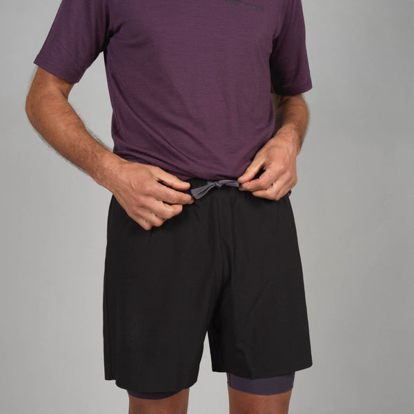 Men's 2 in 1 Merino Shorts