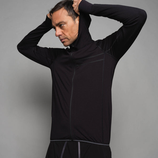 Men's Merino Hooded Sweatshirt