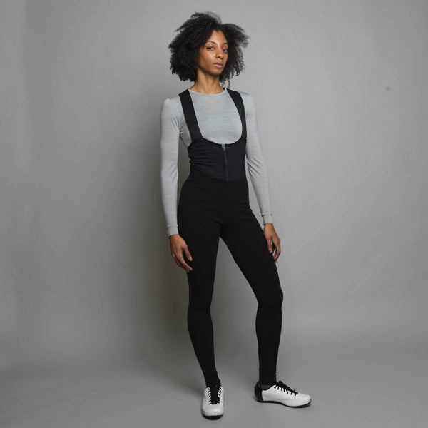 Unisex Merino Thermal Bib Tights (No Pad)