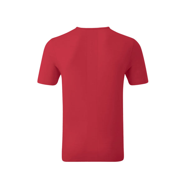Mens Red T-Shirt back