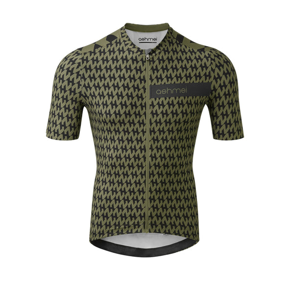 Men's Houndstooth Cycle Jersey