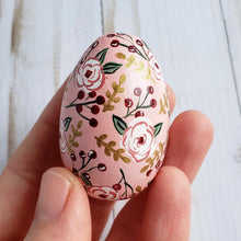 Load image into Gallery viewer, Pink Floral Easter Egg, Baby Eleanor