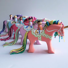 Load image into Gallery viewer, Dala Unicorn - Coral
