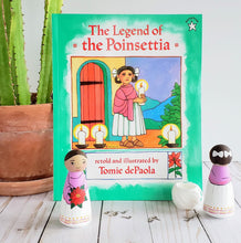 Load image into Gallery viewer, Legend of the Pointsettia, Ornament and Book Gift Set