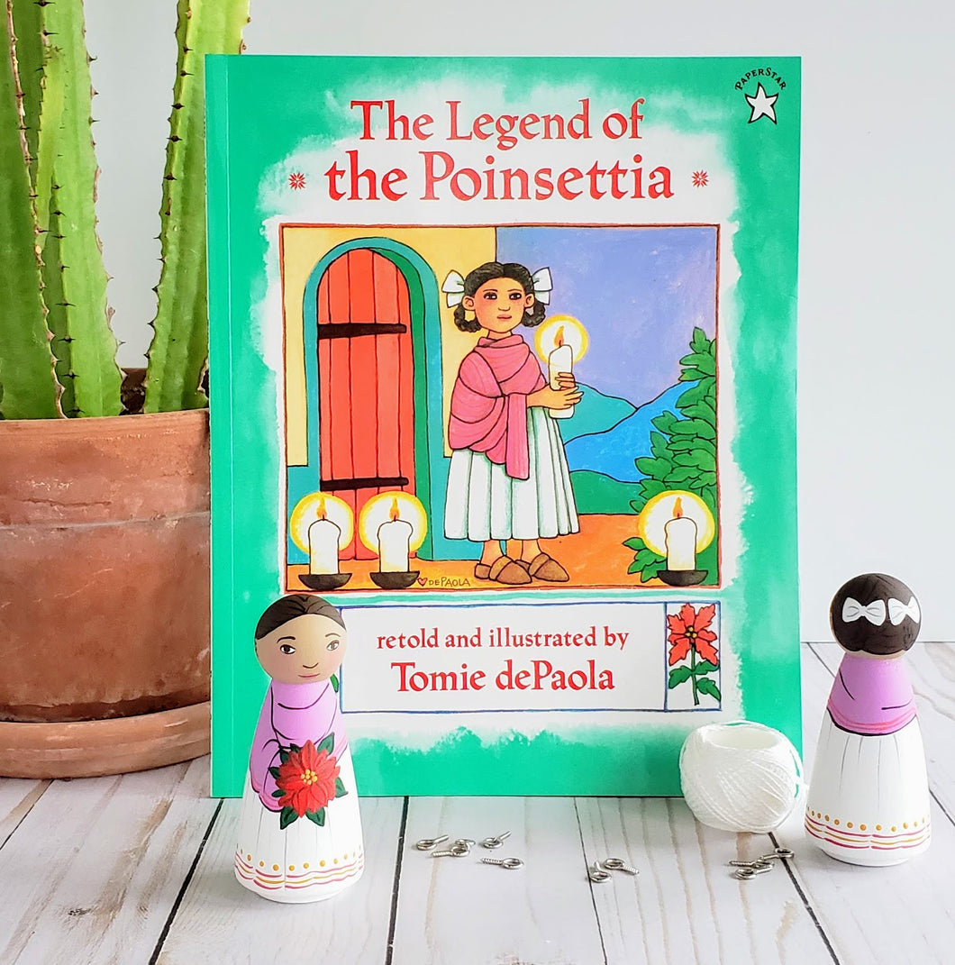 Legend of the Pointsettia, Ornament and Book Gift Set