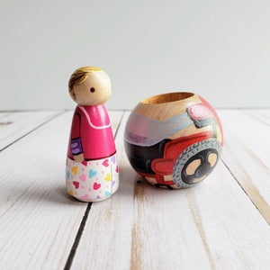 Peg Doll Wheelchair - My Pretty Peggy