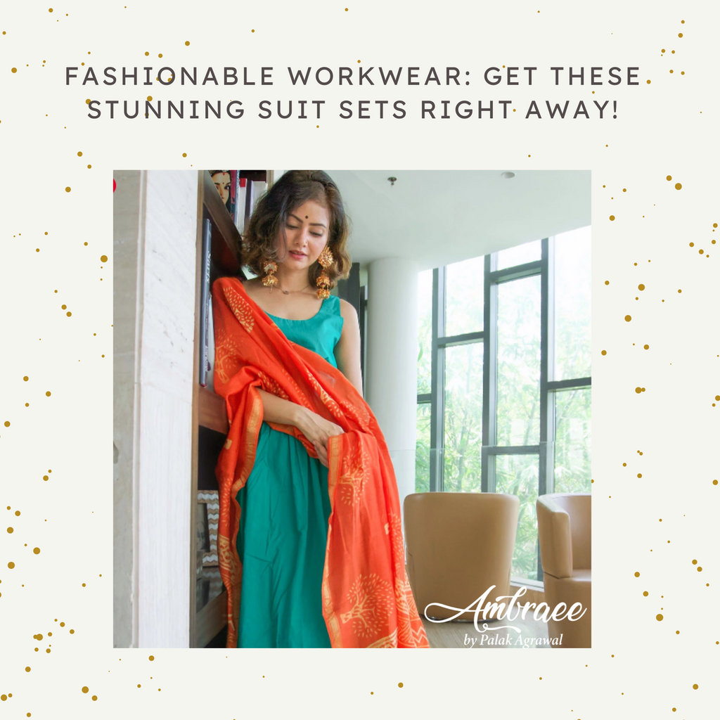 Fashionable workwear: Get these stunning suit sets right away! - Ambraee